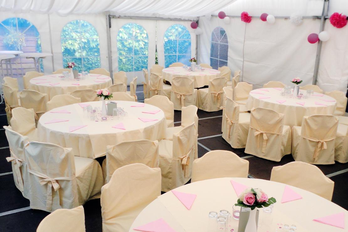 Zeltverleih für Hochzeit und Geburtstage